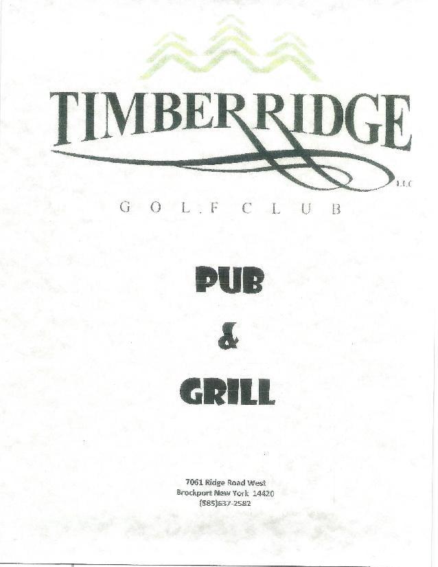 Timber Ridge Pub & Grill