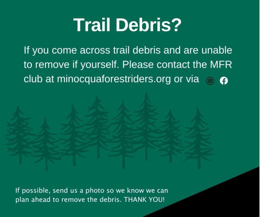 Trail Debris FB Post